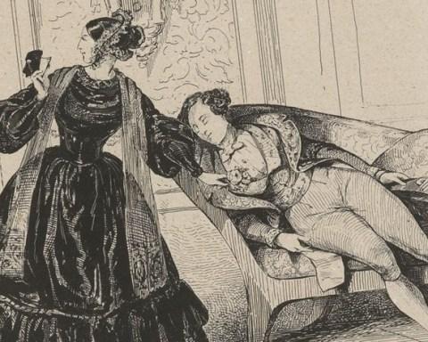 Le domino noir, opéra de Scribe et Auber : estampes, détail @ Gallica.bnf.fr - Bibliothéque Nationale de France