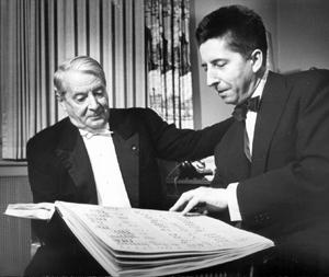Charles Münch et Henri Dutilleux