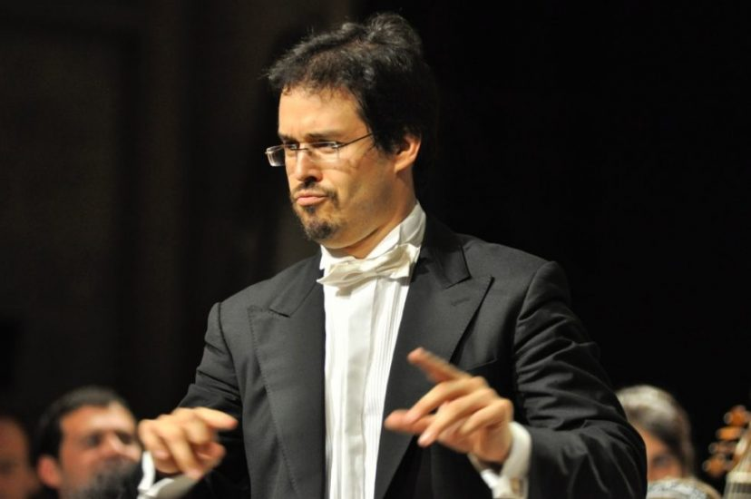 Leonardo García Alarcón © CCR Ambronay / Bertrand Pichène