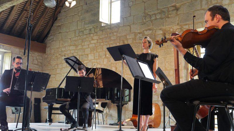 Concert de l'Académie Voix Nouvelles à Royaumont © François Mauger / Royaumont
