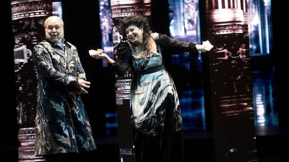 Trompe-la-Mort de Luca Francesconi mis en scène par Guy Cassiers © Kurt Van Der Elst / Opéra national de Paris