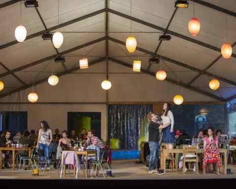 Wozzeck d'Alban Berg dans la mise en scène de Christoph Marthaler © Emilie Brouchon / Opéra national de Paris