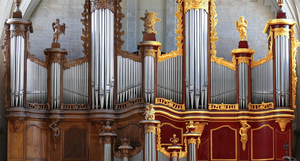 Le projet de restauration du buffet de l'orgue