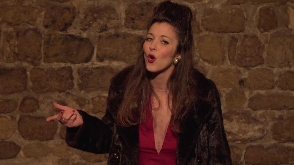 """Céline Baril dans """"La Castafiotte"""""""