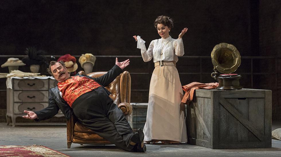 Falstaff © Sébastien Mathé / Opéra national de Paris