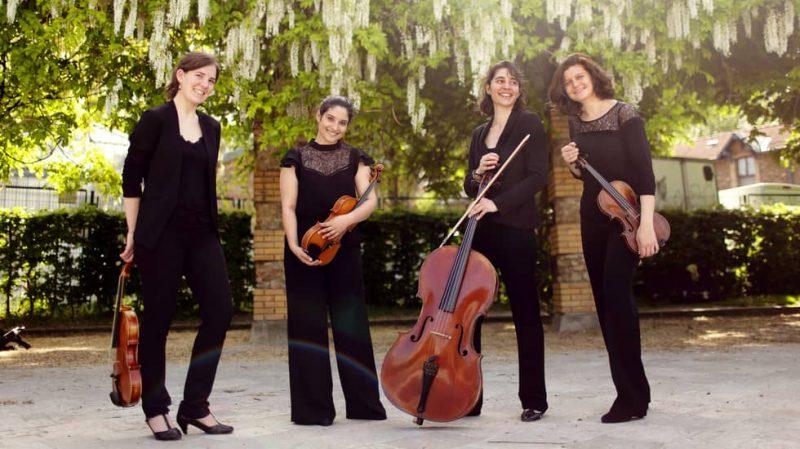 Le Quatuor Akilone © Natacha Colmez-Collard