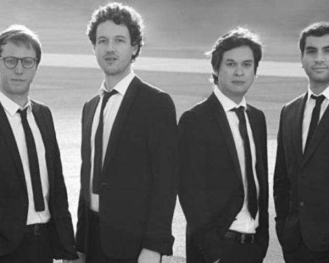 Quatuor Van Kuijk © Andrea H Vega