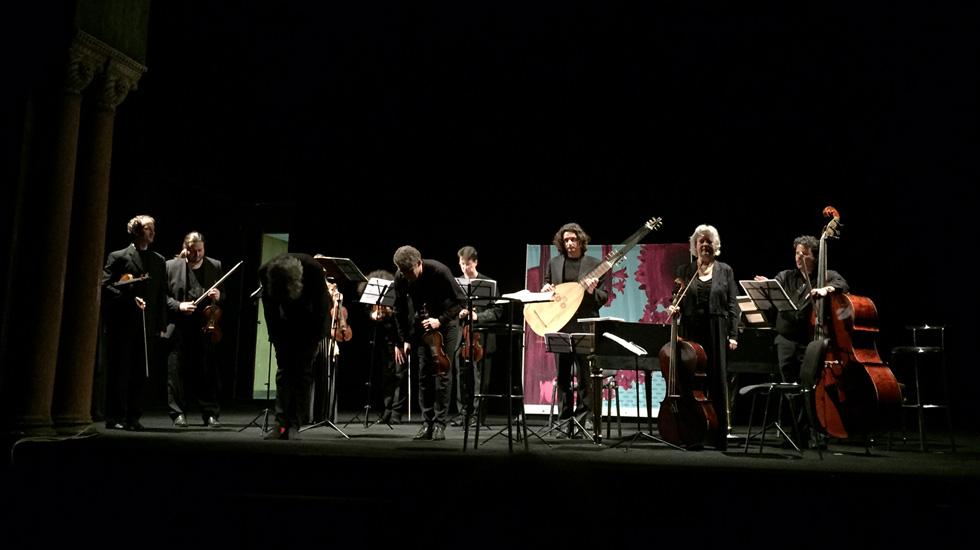 Le Modo Antiquo et Anton Martynov au violon