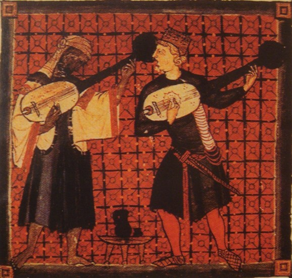 Illustration : Les Cantigas de Santa Maria, XIIIe siècle