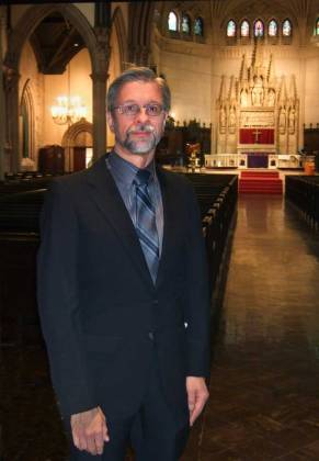 <p>Composer, James Primosch    (BMInt staff photo)</p>