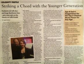 Interview on NY Press, 2013