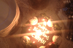 Chopin's Birthday Cake!