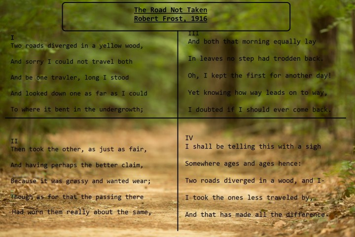 the road not taken by robert frost explanation poem co robert frost the road not taken summary analysis cau