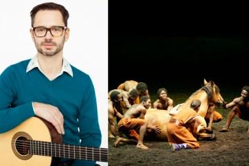 Antoine Berthiaume Making a Living as a Classical Guitarist Cirque du Soleil Cavalia Classical Guitar Magazine