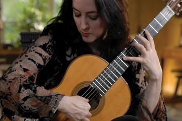 Virginia Luque Classical Guitar Magazine Andres Segovia Bach Julliard