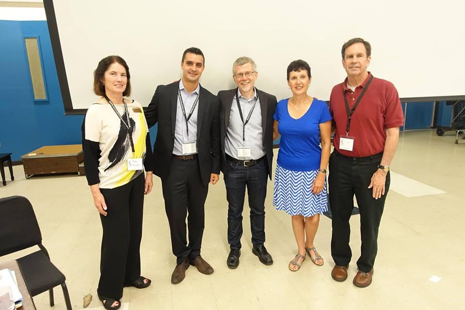 Round table participants, L-R: Julia Pernet, Federico Musgrove Stetson, John Olson, Heather Morand Clark, William Ash