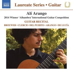 Alí Arango Guitar Recital Naxos Paco de Lucia Leo Brouwer Classical Guitar Magazine Music Review