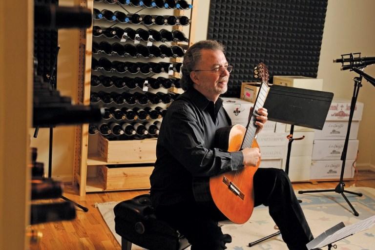 recording classical guitar