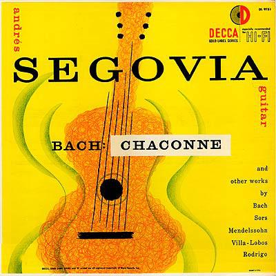 segovia Decca DL 9751