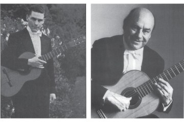 Classical Guitarist Julian Bream at age 20 and 60