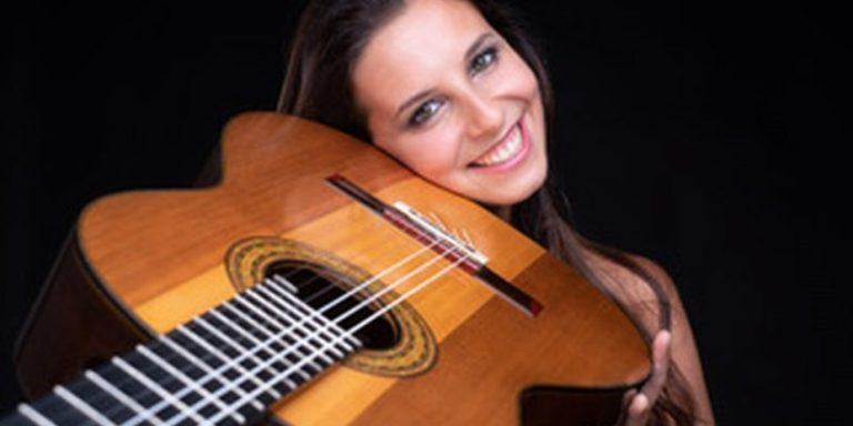 Classical guitarist Carlotta Dalia of Italy