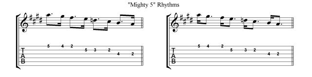 VillaLobos Micro study 1b Gallup rhythms