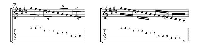 VillaLobos Micro study 1b Straight rhythms