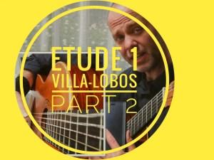 villa lobos etude 1 #villalobos12in12