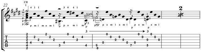 classical guitar rocks lesson on etude no. 7 by Villa-Lobos