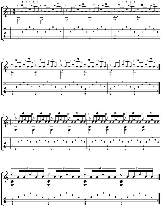 classical guitar lesson Villa-Lobos study 11