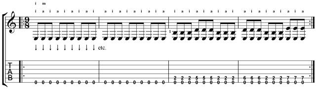 villa-lobos etude 12 RH melody primer lesson