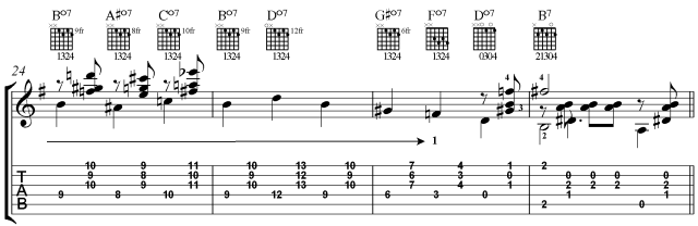 classical guitar lesson villa-lobos prelude 1 chords