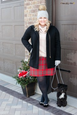 How To Style A Plaid Skirt-11