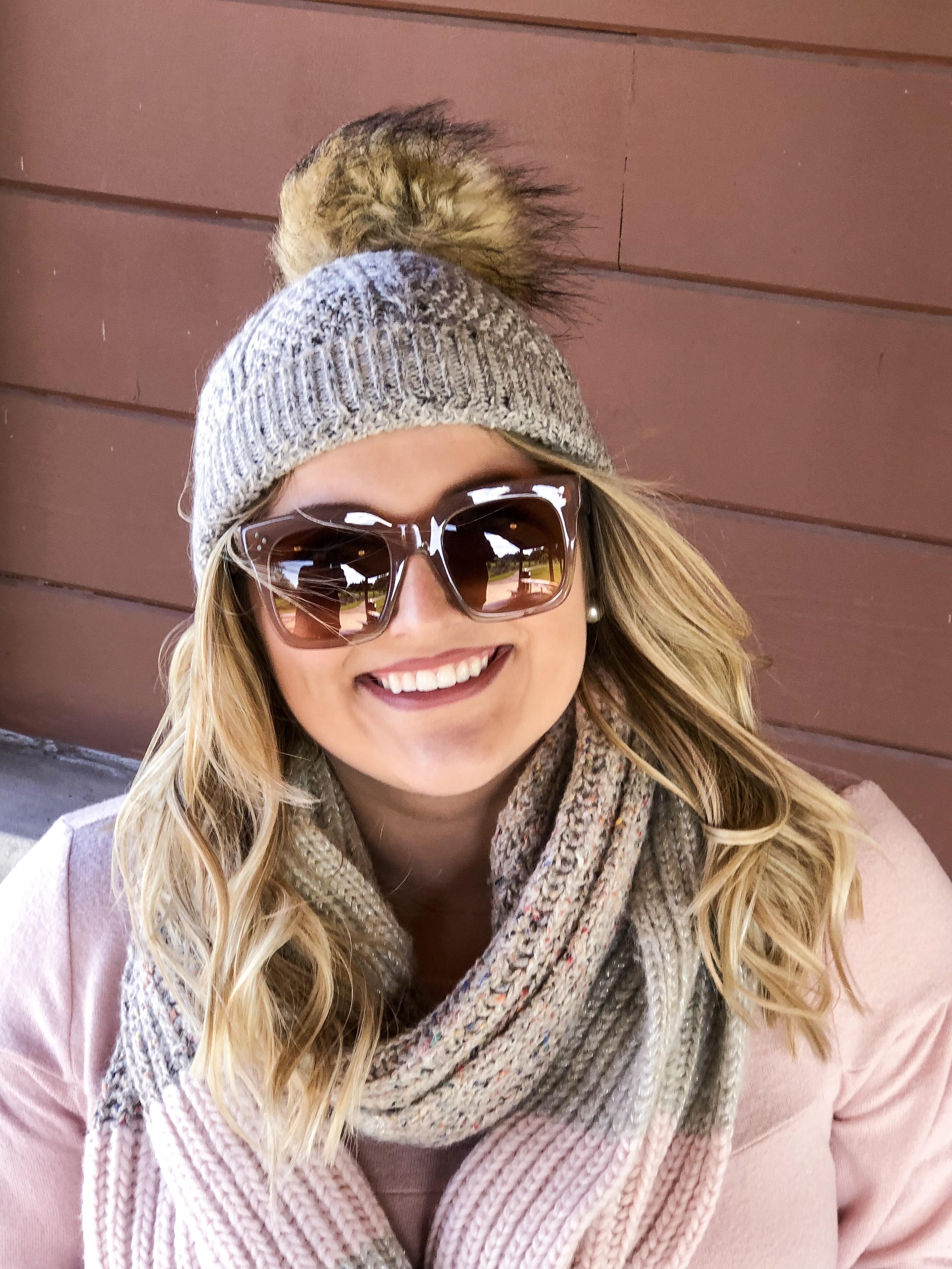 Megan is sunglasses - Classically Clad