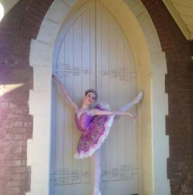 Classical Ballet Tutu - non stretch - dusky pink- full lace and satin overlay