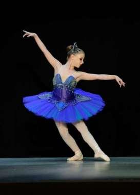 Classical Ballet Tutu - non stretch tutu - royal blue