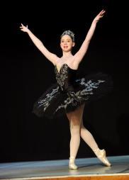 Classical Ballet Tutu - non Stretch - black and silver