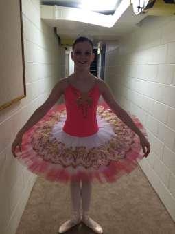 Classical Ballet Tutu - non stretch tutu - coral