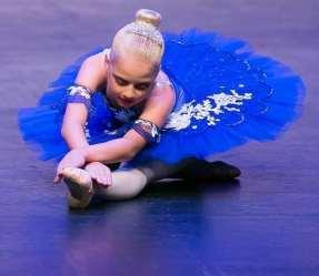 Classical Ballet Tutu - stretch tutu - royal blue