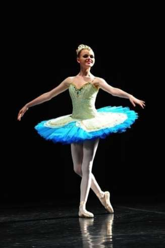 Classical Ballet Tutu - non Stretch - mint and teal