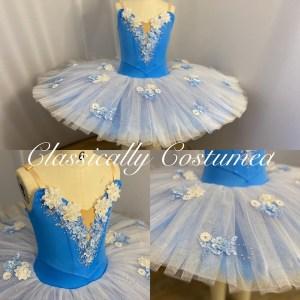 Blue Classical Ballet tutu