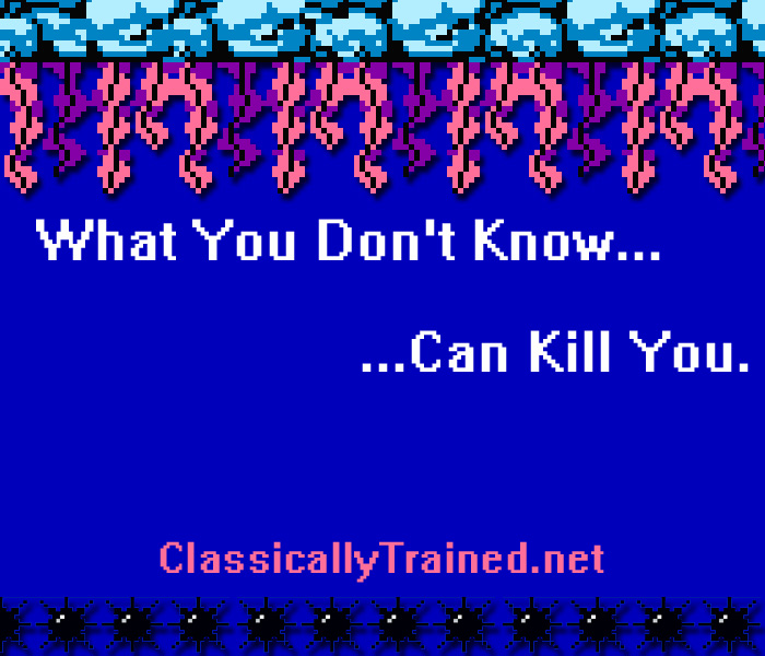 what you dont know classically trained