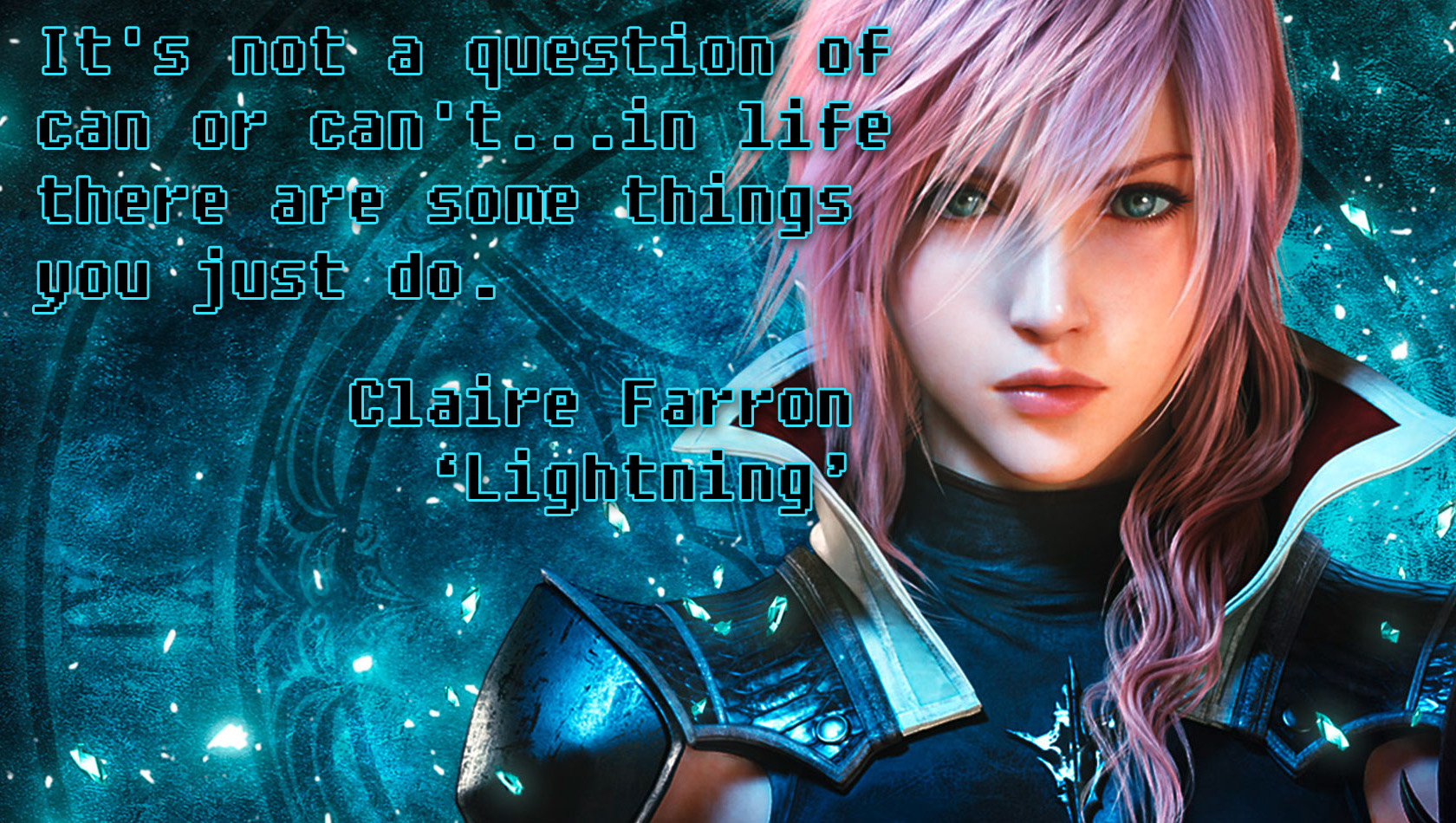 Video Game Quotes: Final Fantasy XIII on Mindset ...