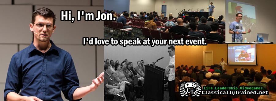 video game speaker keynote workshop life leadership lessons gen y gen x