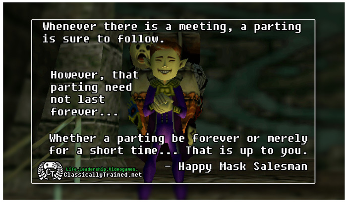 majora's mask quotes happy mask salesman