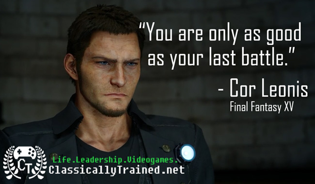 Video Game Quotes: Final Fantasy XV on Success ...