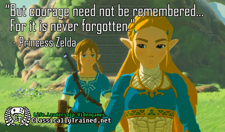 quote from zelda breath of the wild botw
