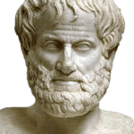 Portrait of Aristotle