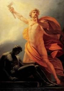 Prometheus steals fire