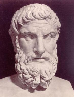 Epicurus Bust